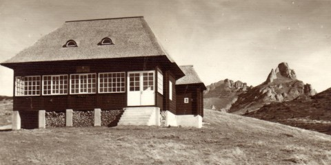 Cabana Ciucaș, în 1940 (Foto: romaniainterbelica.memoria.ro)