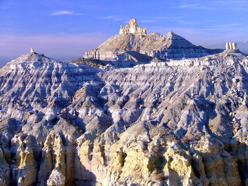Angel Peak (2.130 m), New Mexico, SUA.. Foto:DaveO4Corners