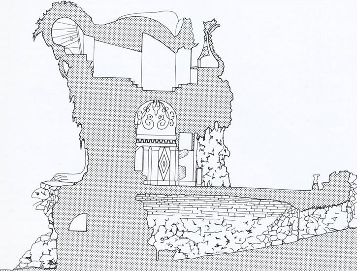 Appennino, schița interioară a colosului