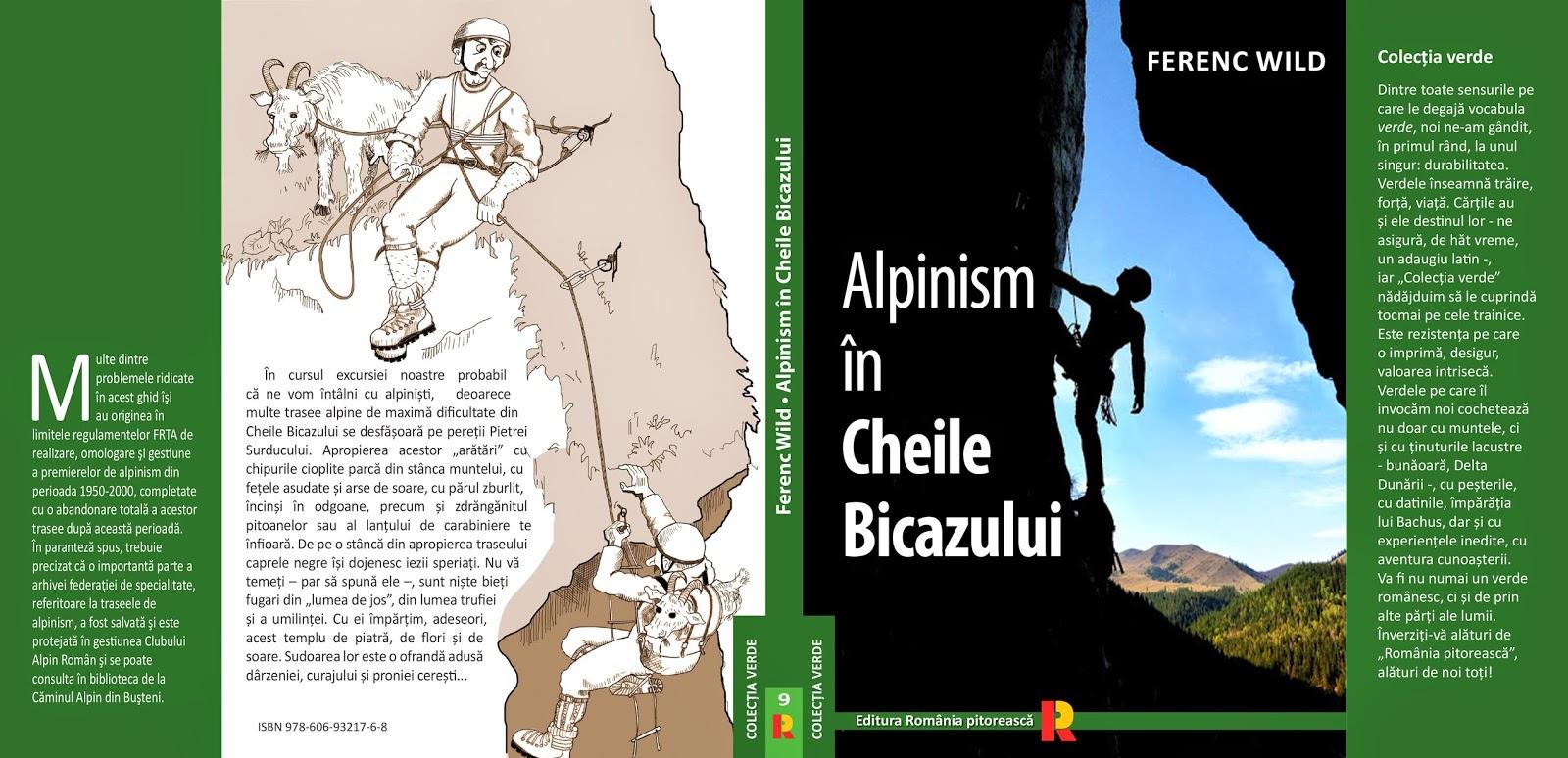 Coperta Alpinism in Cheile Bicazului