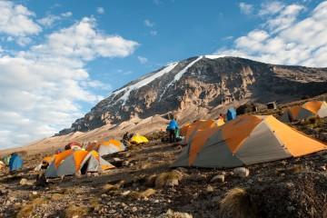 Foto: Francesco Tremolada/Sime/Photononstop - Camp de Barafu sur le Kilimanjaro