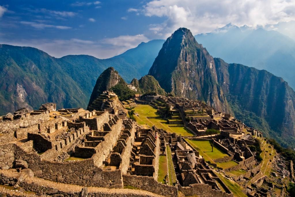 Huayna Picchu (2.720 m), Peru. Foto: Pedro Szekely