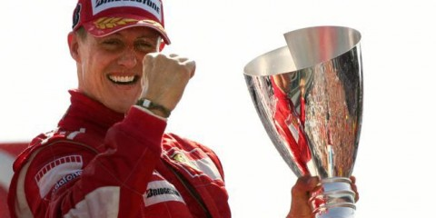 Michael Schumacher (Foto: Facebook)