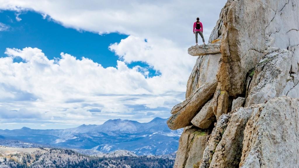 O priveliște îndrăzneață de pe Yosemite. Foto: Andrew Peacock