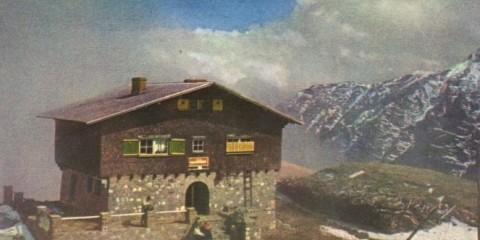 Carte poștală Cabana Caraiman, 1968