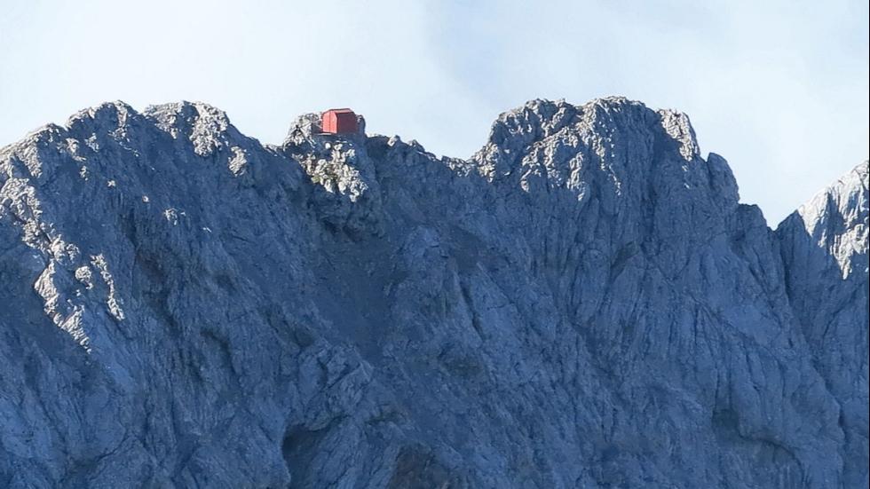 Foto: Bivuacul Schüsselkar/weather.com