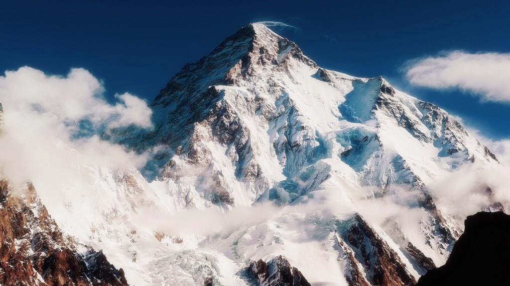 K2 (8.611 m), Pakistan-China. Foto: mrwallpaper.com