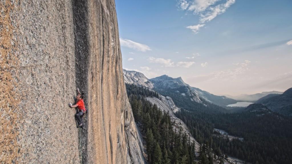 Speriat de înălțimi, în Yosemite. Foto: Cody Tuttle