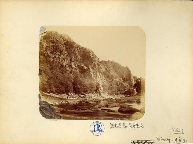 Oltul la Cozia, 1866. Foto: europeana.eu