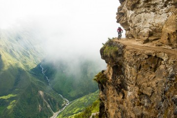 Pe High Road, în Peru. Foto: John Wellburn