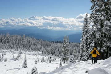 4 motive pentru a pleca într-o drumeție pe timp de iarnă