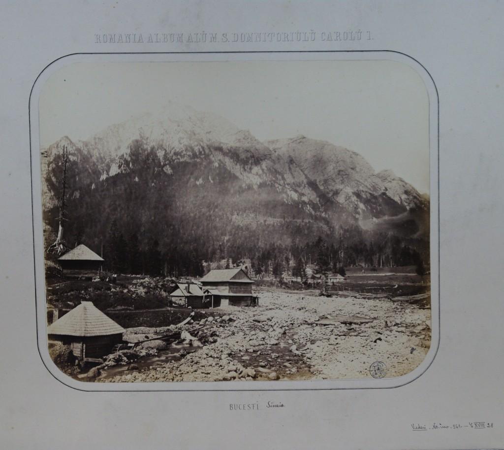 Vedere din Munții Bucegi, 1867. Foto: europeana.euVedere din Munții Bucegi, 1867. Foto: europeana.eu