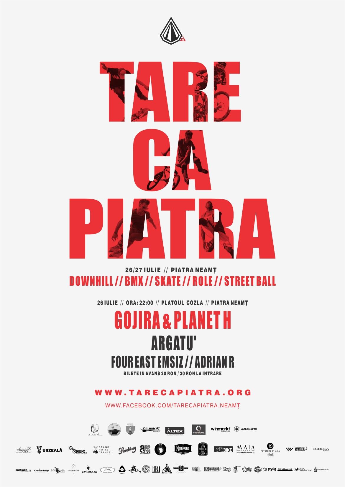 Afișul TareCaPiatra