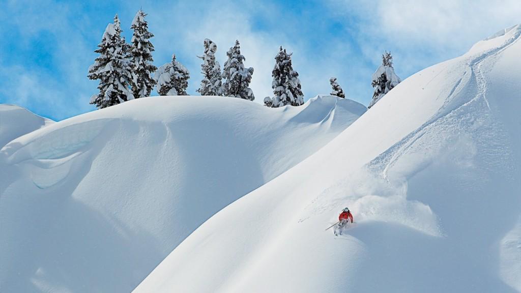 O zi perfectă pentru schi. Foto: Grant Gurdenson