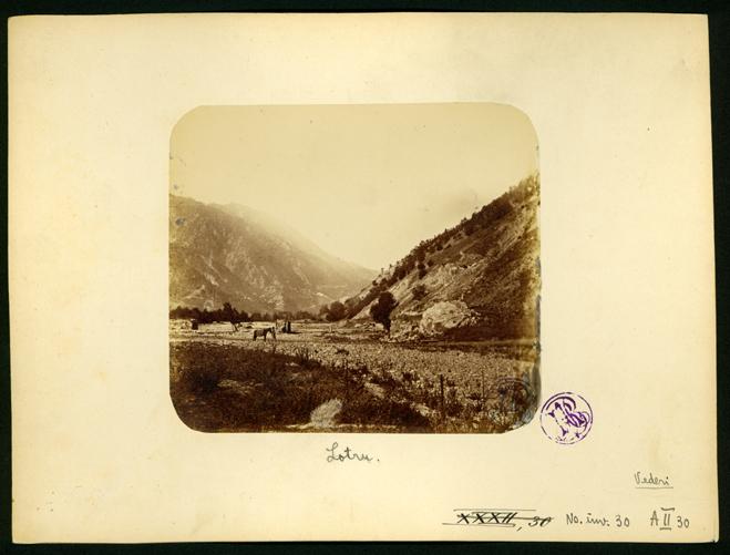 Valea Lotrului, 1866. Foto: europeana.euValea Lotrului, 1866. Foto: europeana.eu