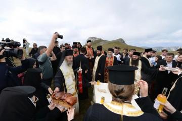 Foto: Spune NU construirii noii biserici in Parcul Natural Bucegi/Facebook