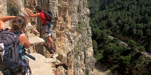 El Caminito del Rey, Spania. Foto: viralgecko.com
