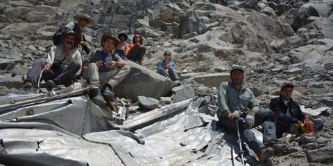 Foto: Lindsey Bever/http://www.washingtonpost.com/news/morning-mix/wp/2015/02/09/chilean-soccer-teams-plane-found-five-decades-after-mountainside-crash/