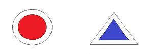 marcaje punct triunghi Acțiunea 1 - Remarcăm Munții Baiului alături de Michelin Acțiunea 1 – Remarcăm Munții Baiului alături de Michelin marcaje punct triunghi 300x106